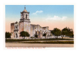 Mission San Jose, San Antonio, Texas Prints