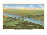Port Arthur Bridge, Texas Prints