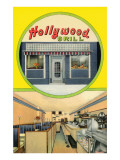 Forties Cafe, Hollywood Grill Prints