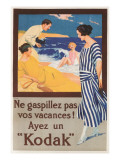 Don't Waste Your Vacation, Kodak Posters