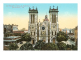 San Fernando Cathedral, San Antonio, Texas Prints