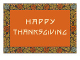 Simple Craftsman Thanksgiving Prints