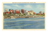 Riverfront and Levee, Memphis, Tennessee Posters