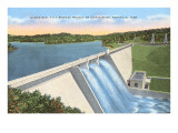 Norris Dam, Knoxville, Tennessee Prints