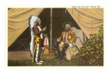 Buffalo Bill and Chief Iron Tail Prints