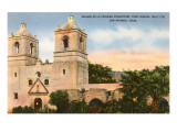 Texas Mission, San Antonio, Texas Art