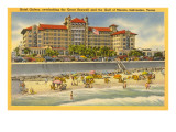 Hotel Galvez, Galveston, Texas Photo