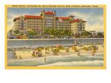Hotel Galvez, Galveston, Texas Art