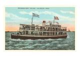 Excursion Boat, Galveston, Texas Prints