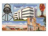 Scenes from Odessa, Texas Prints