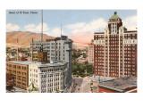 Das Herz von El Paso, Texas Giclée-Premiumdruck