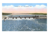 Chickamauga Dam, Chattanooga, Tennessee Prints