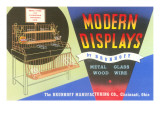 Advertisement for Display Equipment Prints