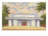 Miami Beach Night Club Entrance Prints