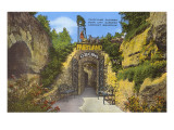Fairyland Caverns, Lookout Mountain, Tennessee Print