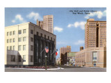 City Hall, Public Library, Fort Worth, Texas Prints