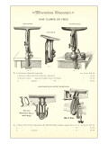 Advertisement for Saw Clamps Affiches
