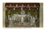 Palace Scene, Chamber of Commerce, Fort Worth, Texas Poster