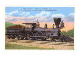 The General, Locomotive, Chattanooga, Tennessee Art