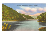Watauga Lake and Dam, Eastern Tennessee Posters