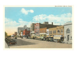 Main Street, Bryan, Texas Kunstdrucke
