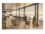 Veranda at Beach Resort Posters