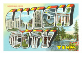 Greetings from Union City, Tennessee Prints