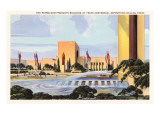 Petroleum Building, Dallas, Texas Posters