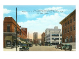 San Francisco Street, El Paso, Texas Print