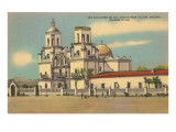 San Xavier del Bac Mission, Tucson, Arizona Prints