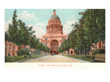 Capitol Building at Austin, Texas Poster