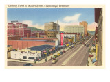 Market Street, Chattanooga, Tennessee Posters