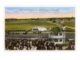 Epsom Downs Racetrack, Houston, Texas Print