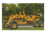 Big Road Grader Tractor Prints