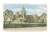 Ysleta Mission, El Paso, Texas Prints