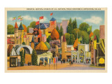 Fantasy Architecture, Texas Centennial Prints