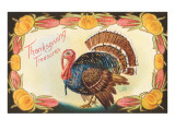 Thanksgiving Treasure, Turkey Print