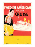 Cruise Travel Poster Print