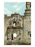 Portal of Mission San Jose, San Antonio, Texas Posters