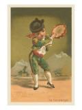 Baby Matador with Tambourine Prints