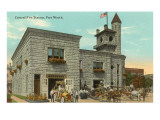 Central Fire Station, Fort Worth, Texas Print