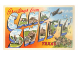 Greetings from Camp Swift, Texas Prints