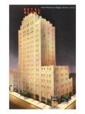 Night, Hotel Wooten, Abilene, Texas Print