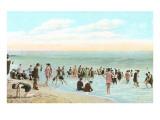 Surf Bathing in the Ocean Posters