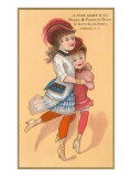 Victorian Sisters Dancing Posters