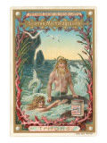 Mythological Scene, Triton Poster