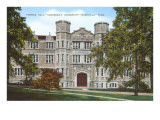 Furman Hall, Vanderbilt University, Nashville, Tennessee Poster