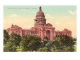 State Capitol at Austin, Texas Prints
