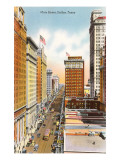 Main Street, Dallas, Texas Prints