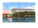 Parthenon and Lake, Nashville, Tennessee Posters